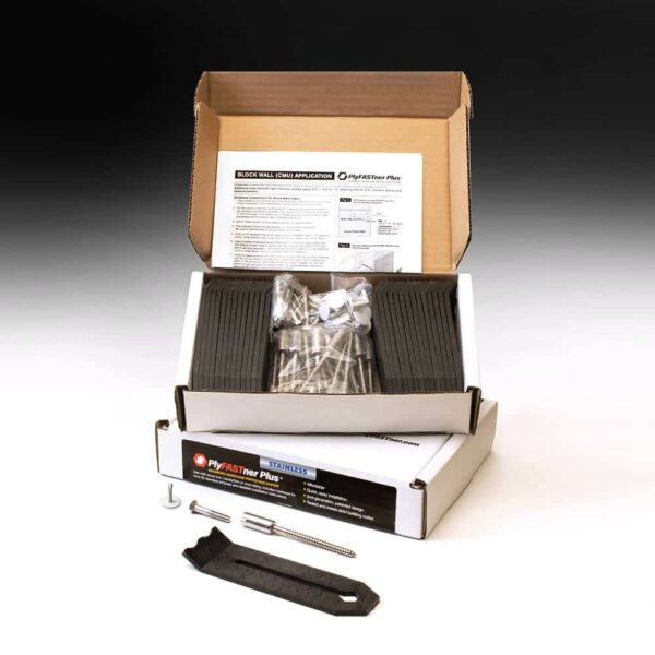 PlyFASTner Plus® 7 Window Case for CMU/Block open box