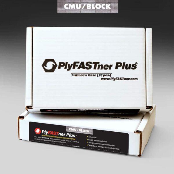 PlyFASTner Plus® 7 Window Case for CMU/Block