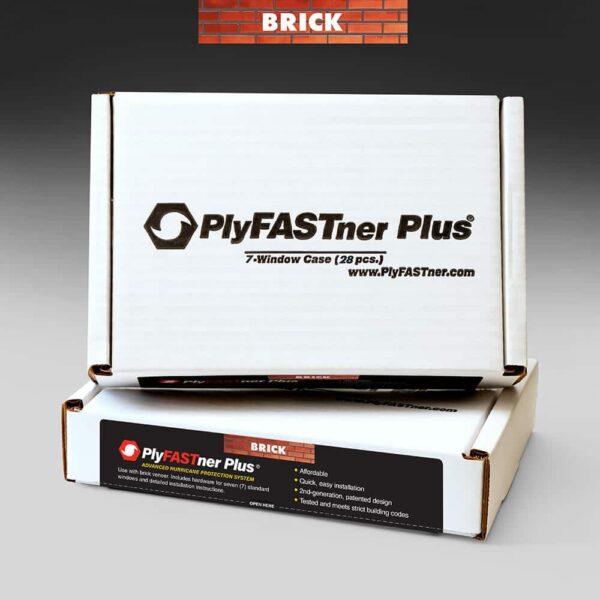 PlyFASTner Plus® 7 Window Case for Brick Veneer