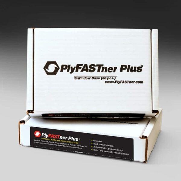 Plyfastner Plus® 9 Window Case for Standard Wood Frame Installation